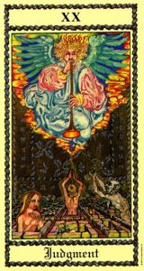 from the Medieval Scapini Tarot